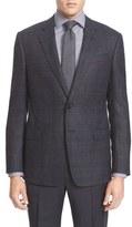 Armani Collezioni Men's Classic Fit Birdseye Wool Sport Coat