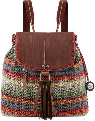 The Sak Avalon Convertible Crochet Backpack