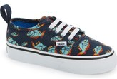 Vans 'Authentic - Piranha' Sneaker (Baby, Walker & Toddler)