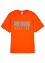 Billionaire Boys Club Orange Logo-print Cotton T-shirt