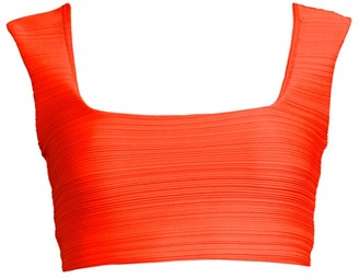 Mara Hoffman Raina Ruched Bikini Top