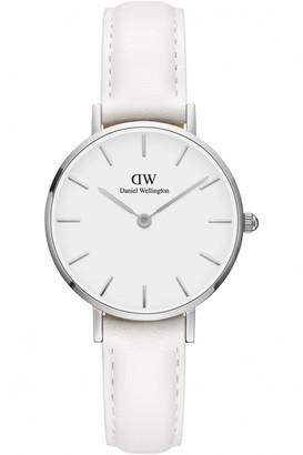 Daniel Wellington Ladies Petite 28 Bondi White Watch DW00100250