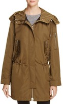 Vince Camuto Cinched Rain Jacket