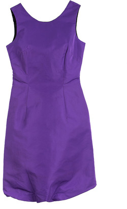 Dolce & Gabbana Purple Sleeveless Fitted Dress S
