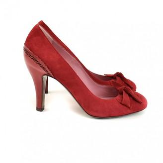 Fendi \N Red Leather Heels
