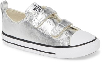 Converse Chuck Taylor(R) All Star(R) 2V Double Strap Metallic Sneaker