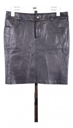 Ventcouvert Black Leather Skirts