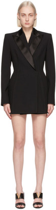 Versace Black Blazer Dress