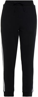 adidas Striped Cotton-blend Jersey Track Pants