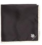 Dolce & Gabbana Logo-print silk-twill pocket square