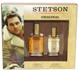 Coty Stetson By For Men. Gift Set (Cologne Spray 1.5-Ounce + Aftershave 0.75-Ounce ).