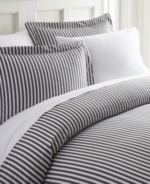 IENJOY HOME Elegant Designs Patterned Duvet Cover Set by The Home Collection, Queen/Full Bedding