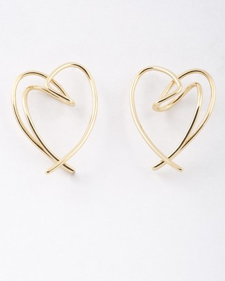 Peter Lang Fatiha Heart (Valentine) Earrings