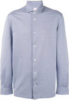 Barba micro pattern shirt - men - Cotton - 38