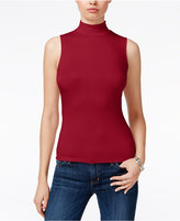 GUESS Bre Mock-Neck Shell