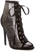 Liliana Roma Lace Bootie