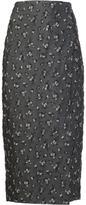 Brock Collection 'Dark Floral' skirt - women - Silk/Nylon/Polyester - 2