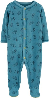 Carter's Baby Boy Lion Snap-Up Thermal Sleep & Play