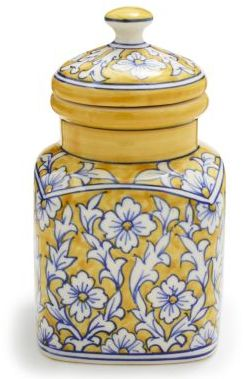 Sur La Table Floral Ceramic Canister, Small