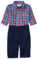 Ralph Lauren Infant Boys' Twill Plaid Shirt & Pants Set - Sizes 3-24 Months