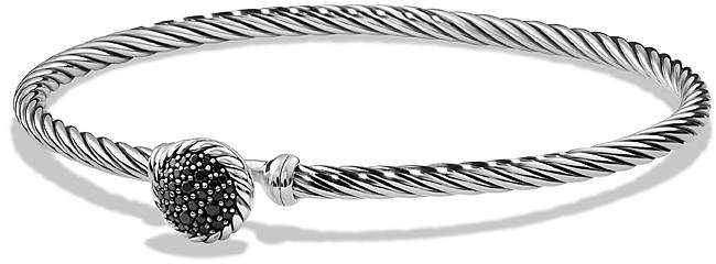 David Yurman Ch'telaine Bracelet with Black Diamonds