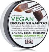 LBC By Siân Richards LONDON BRUSH COMPANY Vegan Young Coconut Milk Solid Brush Shampoo, Young Coconut 28 g