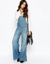 Free People Ring Back Overalls