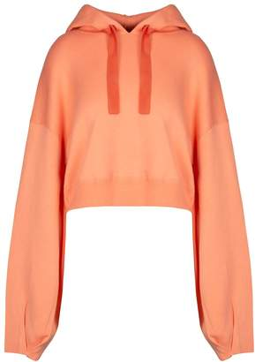 In.No Brittney Cashmere Blend Coral Hoodie