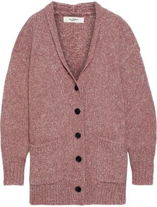 Etoile Isabel Marant Scott Oversized Marled Knitted Cardigan