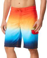 Speedo Men's Spray Blend Ombre Board Shorts