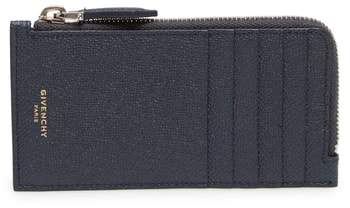 Givenchy Eros Large Leather Zip Card Case