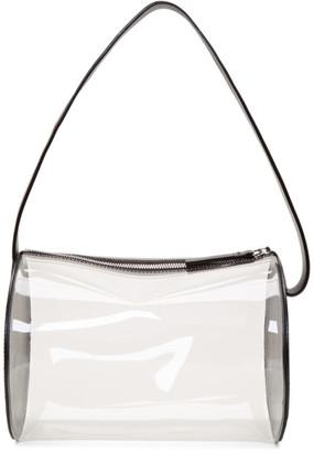 Building Block SSENSE Exclusive Black and Transparent PVC Barrel Bag
