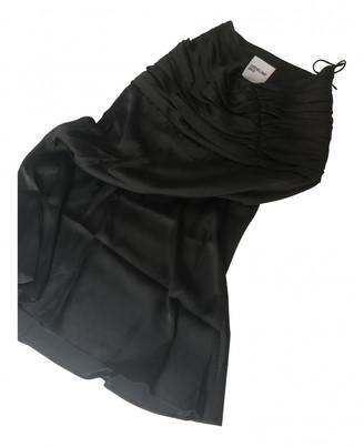 Orseund Iris Black Polyester Skirts