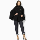 Ralph Lauren Gala Belted Wool Cape