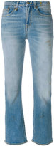 R 13 distressed cropped jeans - women - Cotton/Spandex/Elastane - 26