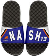 ISlide NBA Retro Legends Steve Nash 13 Jersey Slide Sandal, White