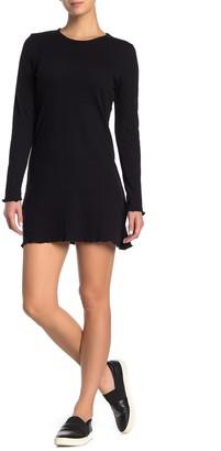 Cotton On Ainsley Long Sleeve Waffle Mini Dress