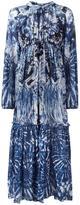 Roberto Cavalli abstract print drawstring dress