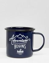 Gentlemen's Hardware Blue Enamel Mug