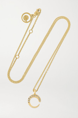 KHIRY Fine - Mini Khartoum 18-karat Gold Diamond Necklace - one size