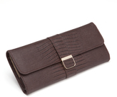 Wolf Palermo Jewelry Roll, Brown