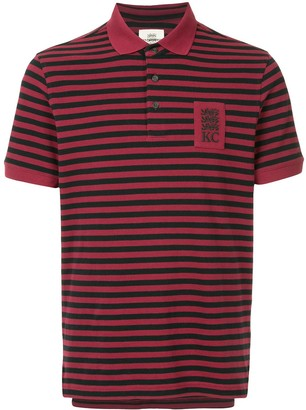Kent & Curwen striped polo shirt