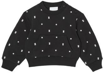 Burberry Kids Embroidered Logo Sweatshirt (6-24 Months)
