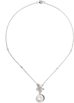 Yoko London 18kt white gold Starlight South Sea pearl necklace