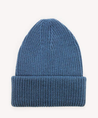 Sole Society Women's Classic Ribbed Beanie Hat Teal One Size From