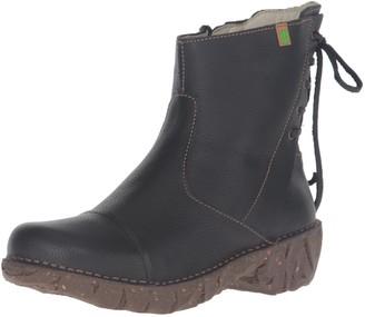 El Naturalista N148 SOFT GRAIN BLACK / YGGDRASIL Womens Boots