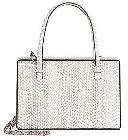Loewe Women's Python Top Handle Box Bag