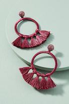 Anthropologie Tinsley Tassel Drop Earrings