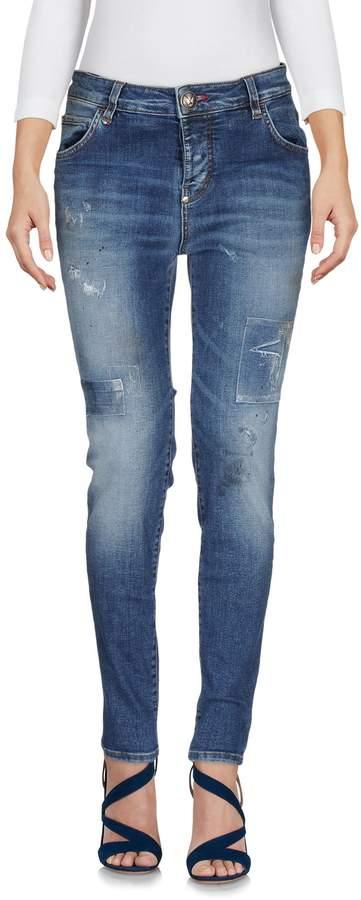 Philipp Plein Denim pants - Item 42611437