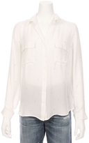 L'Agence Margaret Two Pocket Star Shirt